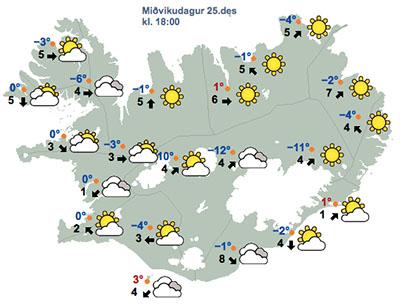 Fínasta ferðaveður var í dag