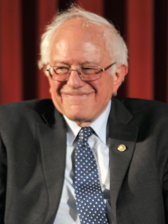 Maður er nefndur Bernie Sanders