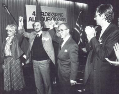 1984: Jón Baldvin Hannibalsson kjörinn formaður
