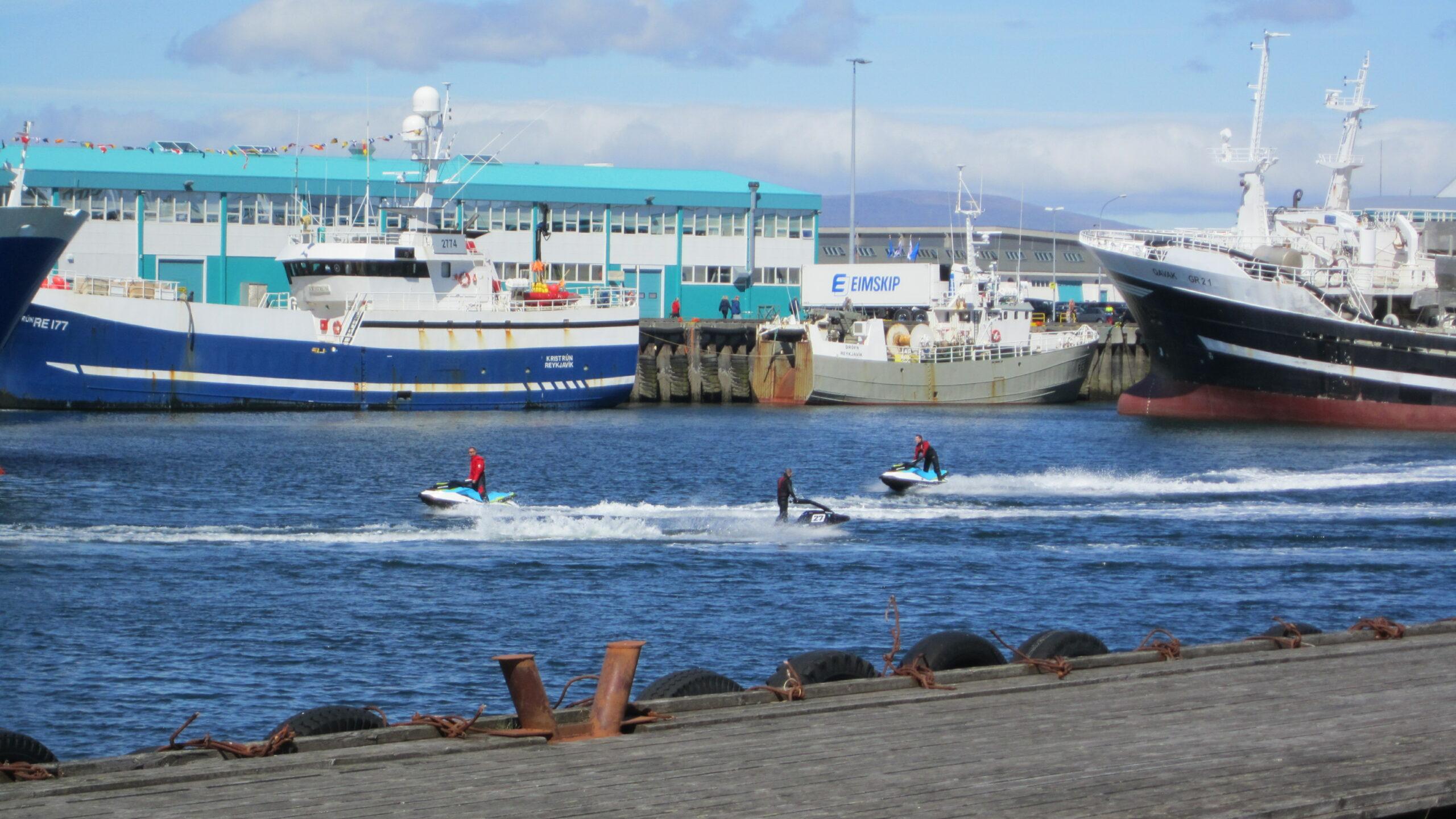 Af hverju vilja allir þessir stjórar verða hafnarstjóri í Reykjavík?