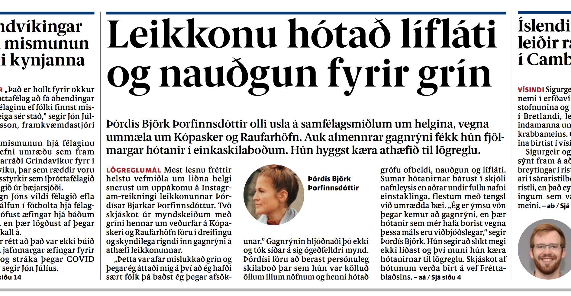 Fréttablaðið flokkar hatursorðræðu sem grín: Ekki sama Jón og séra Jón