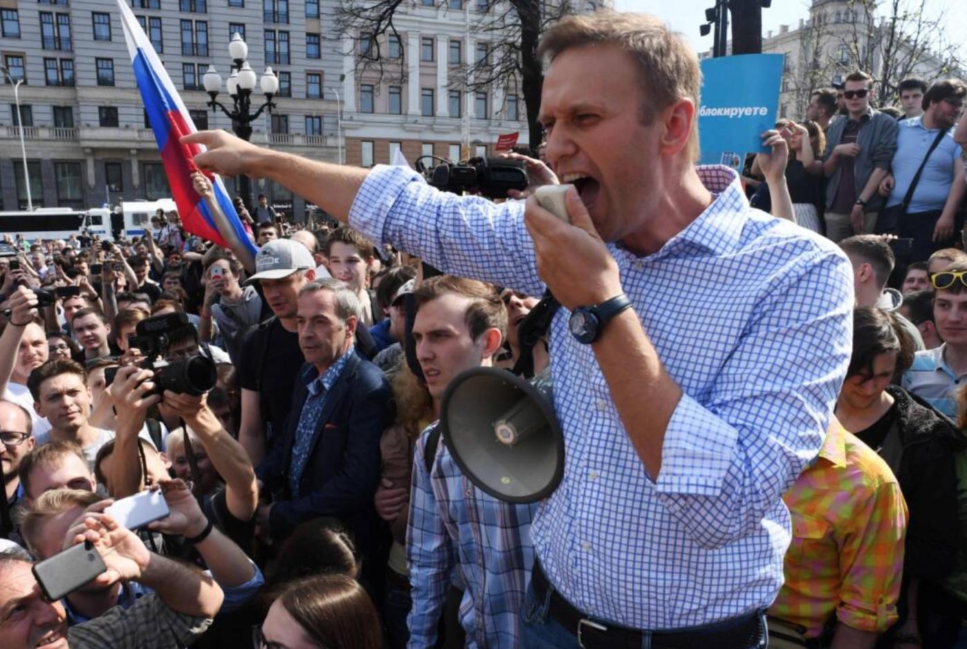 Margir handteknir í mótmælum til stuðnings Navalny: Búist við mótmælum í 60 borgum í Rússlandi