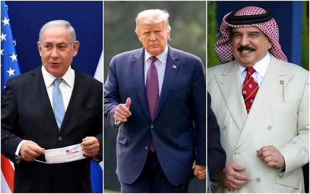 Barein samþykkir að koma á eðlilegum samskiptum við Ísrael, samkvæmt tilkynningu Donalds Trumps