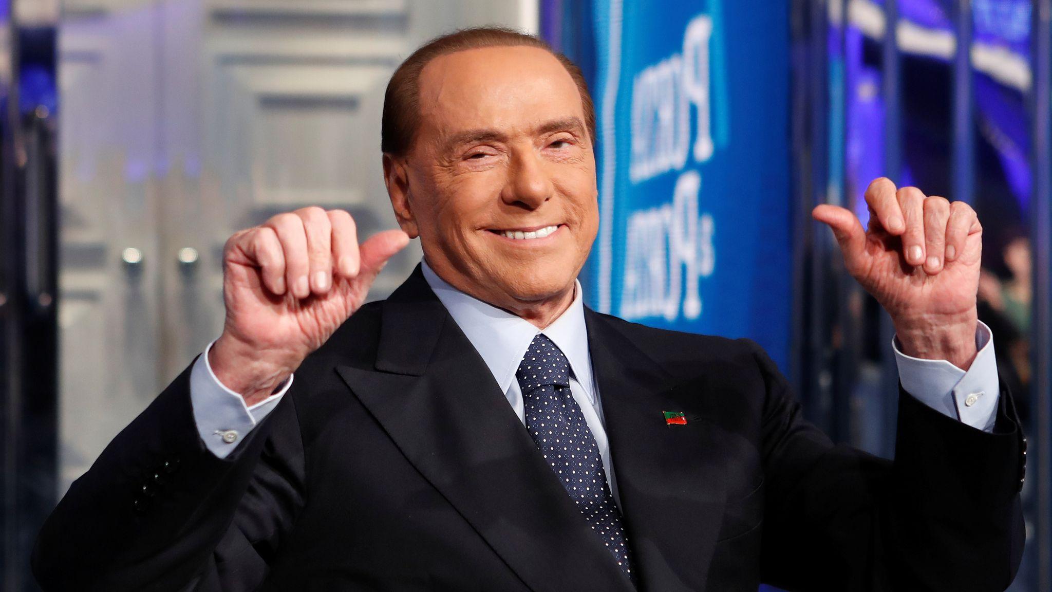 Silvio Berlusconi reyndist jákvæður fyrir covid-19