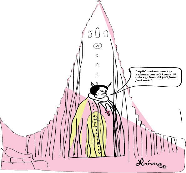Sunnudags predikun biskups