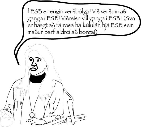 Sunnudagur með Hórusi: Í ESB er engin verðbólga