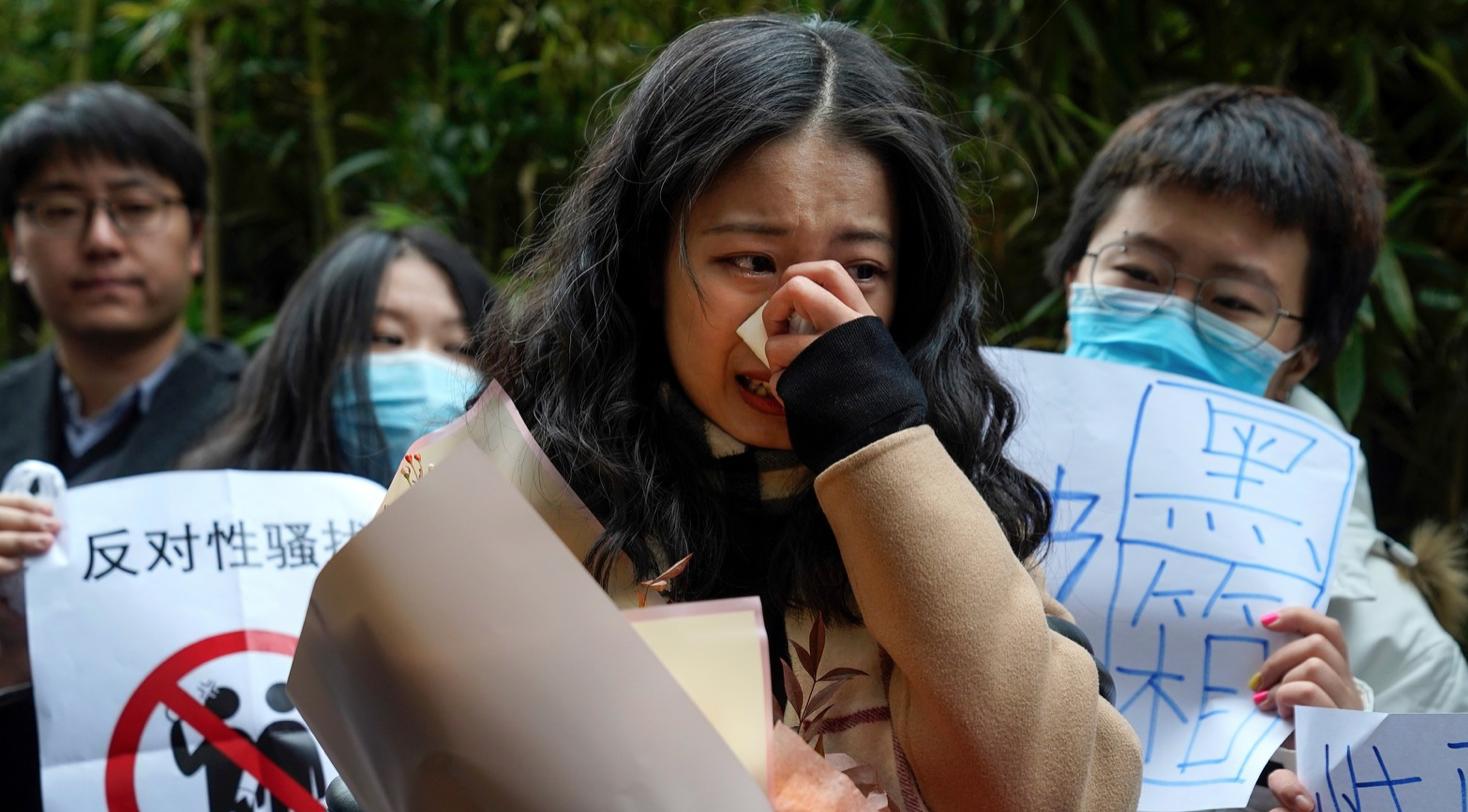 Afgerandi metoo mál fyrir dómstól í Kína